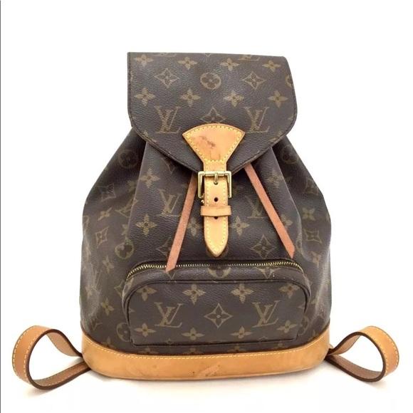 e192f230 Louis Vuitton Handbags - Authentic Louis Vuitton Montsouris PM Backpack